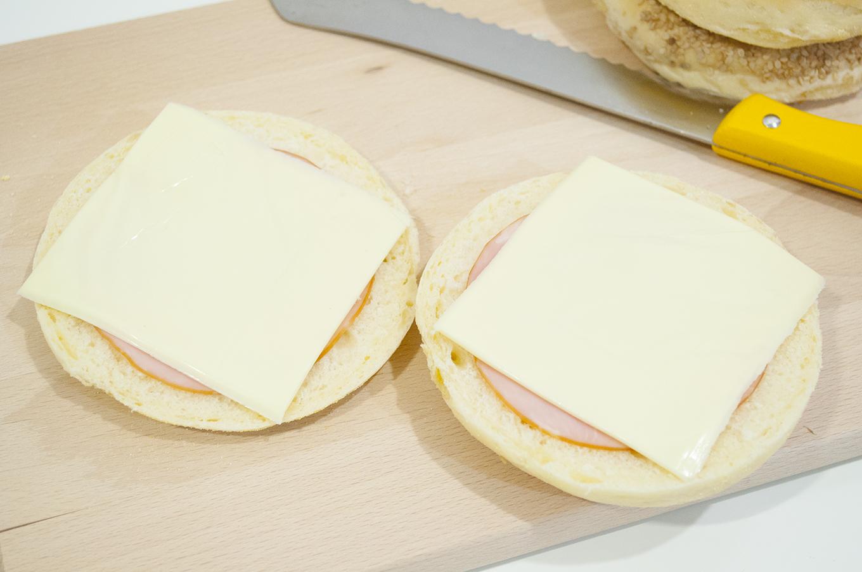 ダブルハム&ダブルチーズ!