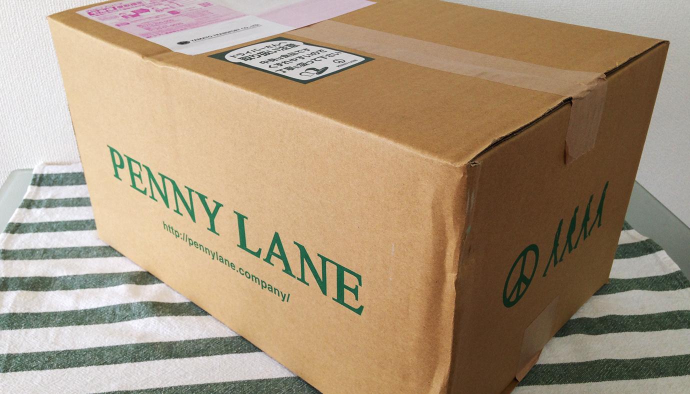ペニーレインのパンが入った箱