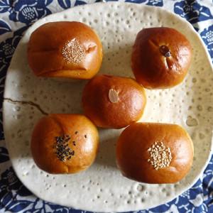 和菓子屋の作るあんパン!静岡県下田市の平井製菓の「秋季限定のあんパン食べ比べ5種」【お取り寄せ】
