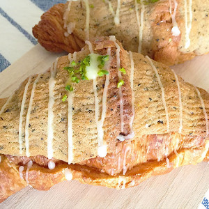 ティータイムにピッタリ♬フランス伝統のあま~いお菓子パン・クロワッサン・オ・ザマンド・オ・テ【お取り寄せ 】