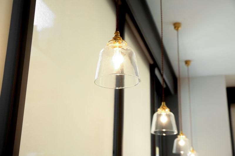 ランプもオシャレ……!