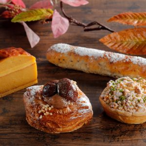 【シェラトン都ホテル大阪】栗など秋の味覚を味わうスイーツやパンを販売!