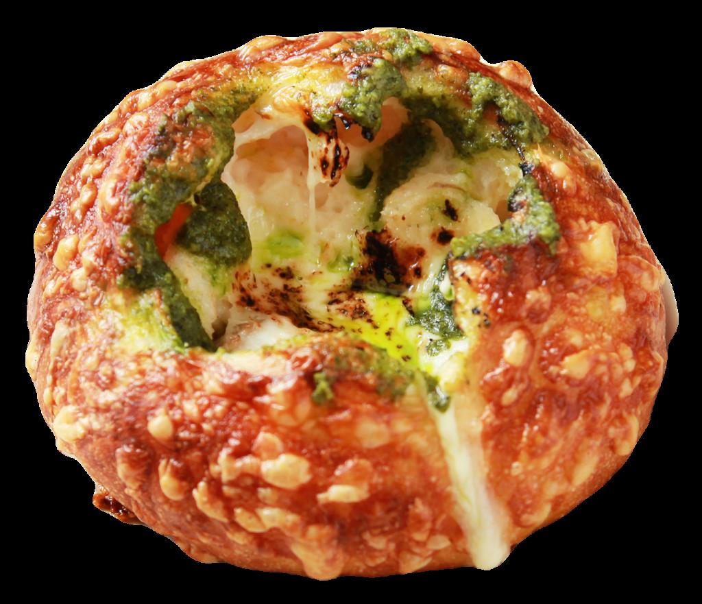 グラタンチーズXmas〜バジル〜(価格:1個330円+税)
