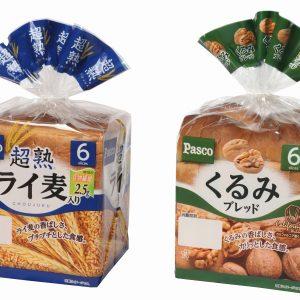 バラエティブレッドシリーズ 『超熟ライ麦入り』『くるみブレッド』がリニューアル!
